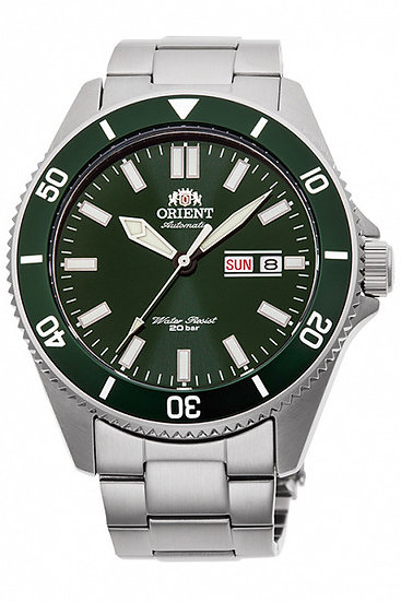 Orient Kano Green Dial Automatic RA-AA0914E19B 200m Men's Watch