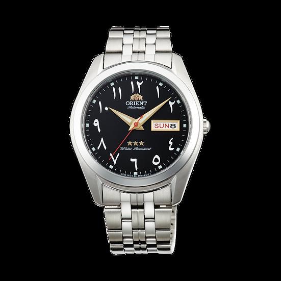 Orient Tri-Star Arabic Automatic Black Dial Watch SAB0D005B8 Made in Japan