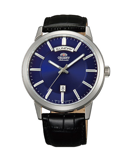 Orient Day Date Blue Dial Automatic Watch FEV0U003DH
