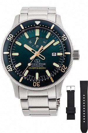 Orient Star Sports Diver 200m Green Dial RE-AU0307E00B Automatic Watch