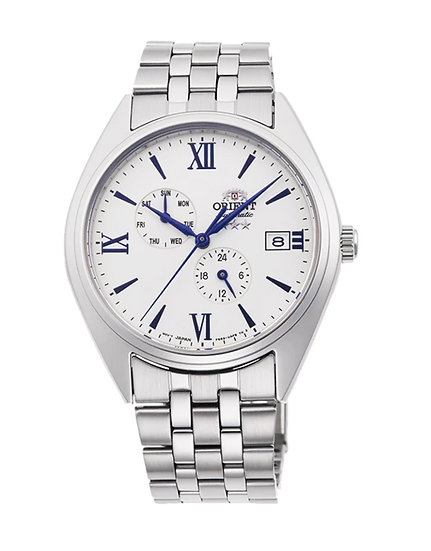 Orient Altair Tri-Star White Automatic RA-AK0506S10B Men's Watch