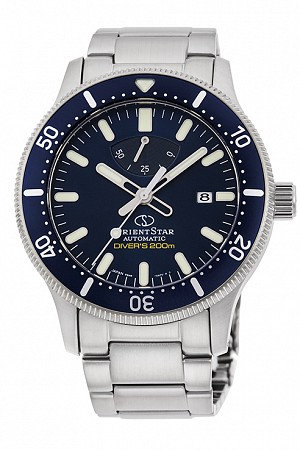 Orient Star Sports Diver 200m Blue Dial Automatic RE-AU0302L00B