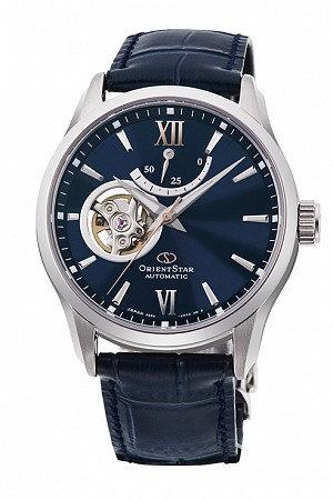 Orient Star Semi-Skeleton Open Heart RE-AT0006L00B Men's Watch