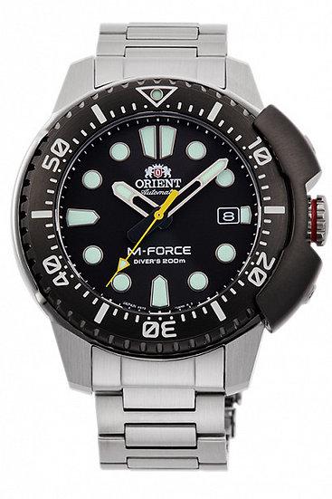 Orient M-Force Black RA-AC0L01B00B Automatic Watch
