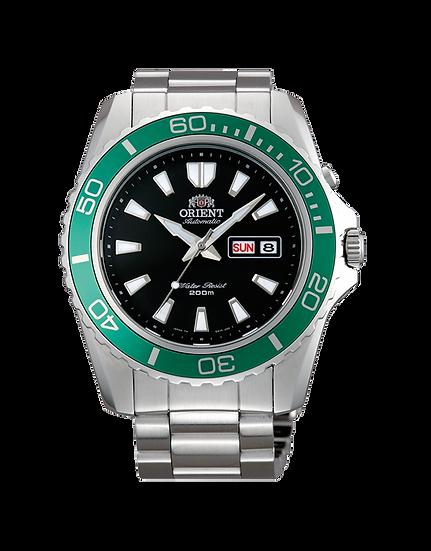 Orient Mako XL FEM75003B9 Green Bezel Men's Watch