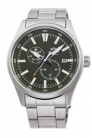 Orient Defender II 2 Automatic Green Dial RA-AK0401L10B Men's Watch