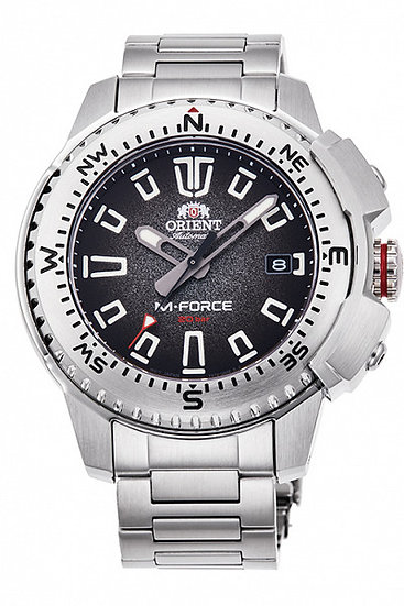 Orient M-Force Black RA-AC0N01B10B Automatic Watch