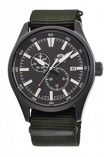 Orient Defender II 2 Automatic Black Dial RA-AK0403N10B Men's Watch