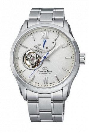 Orient Star Semi-Skeleton Open Heart RE-AT0003S00B Men's Watch