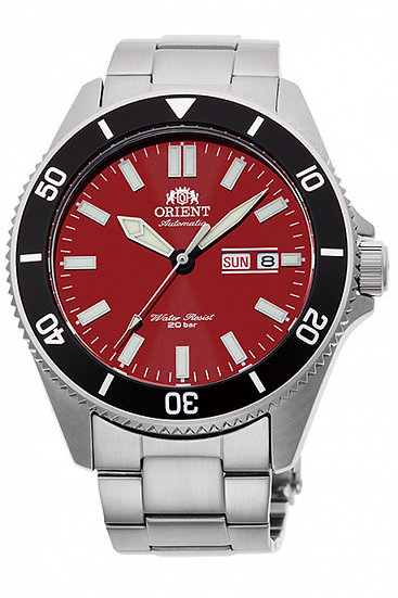 Orient Kano Red Dial Automatic RA-AA0915R19B 200m Men's Watch