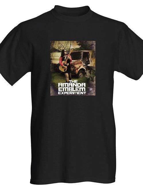 Amanda Emblem Black T Shirt