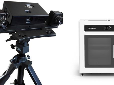 Como que o scanner 3D e impressão 3D trabalham juntos