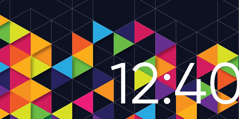 12:40, Inside the Creative Process