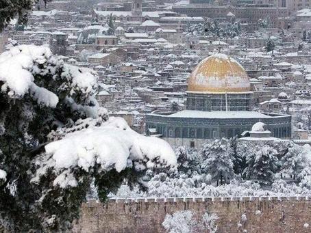 이스라엘의 기후와 겨울