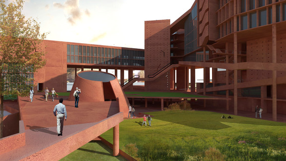 Participant, Design competition Coordinated Complex for Department of Public Library and National Museum of Bangladesh, 2017