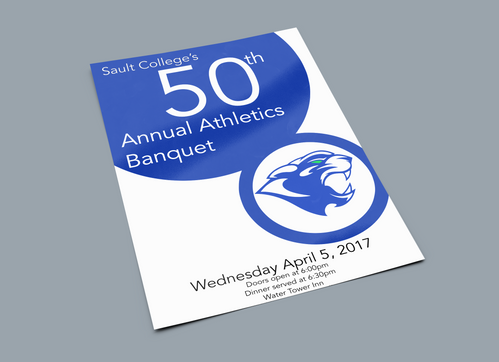 Cougars banquet poster