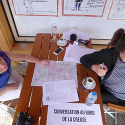Atelier au Café des sports