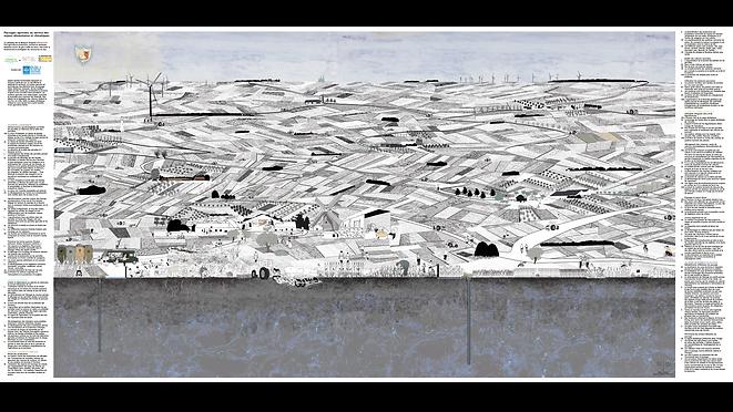 plateau de la Beauce en 2050