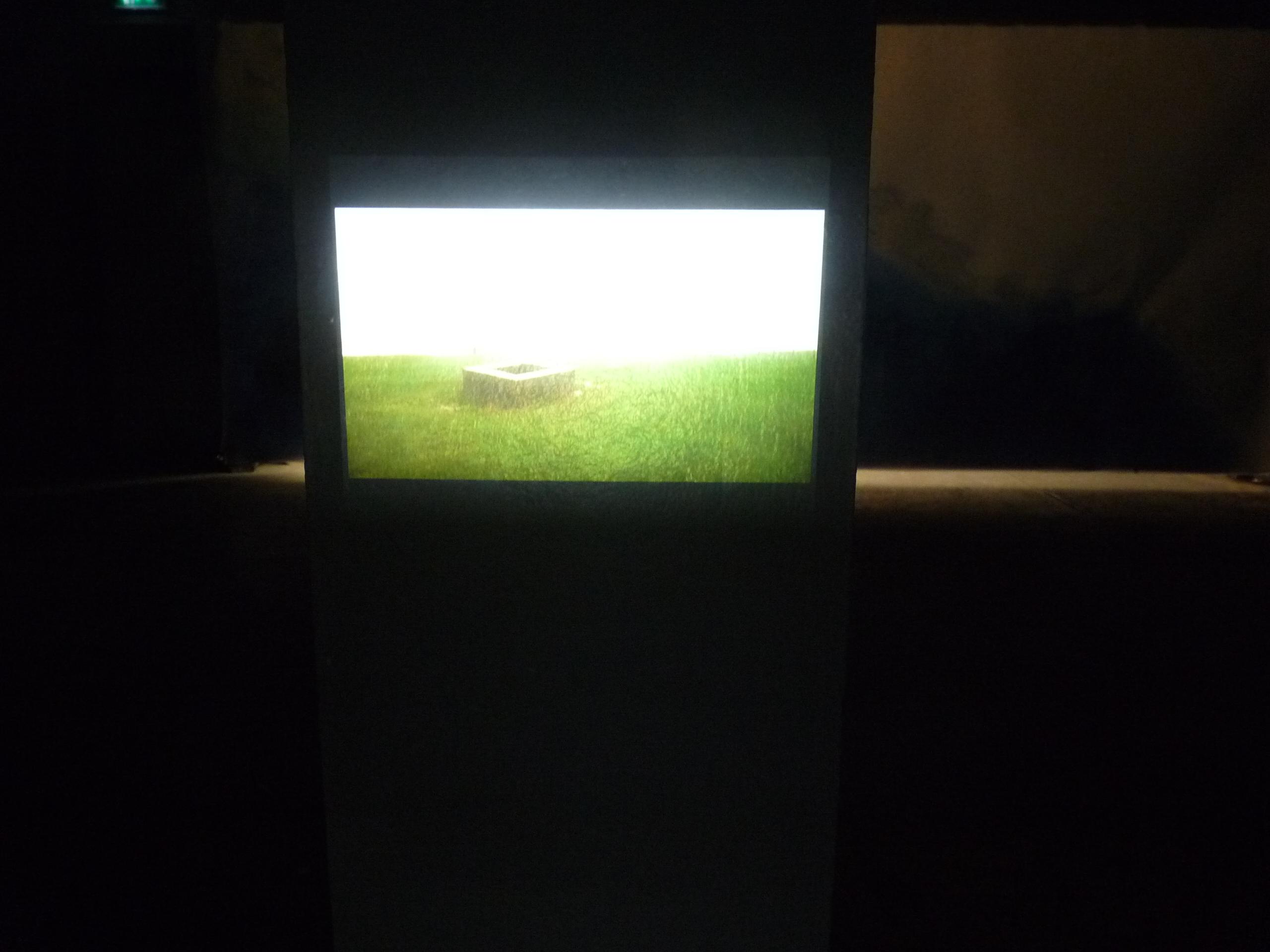 Projection sur béton