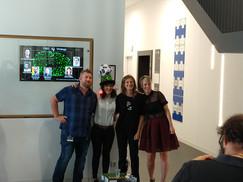 Steeve, Marta, Ada and Megan