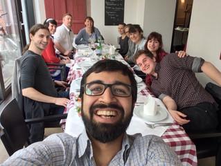 Pranav gave a talk at the 2016 European virology meeting