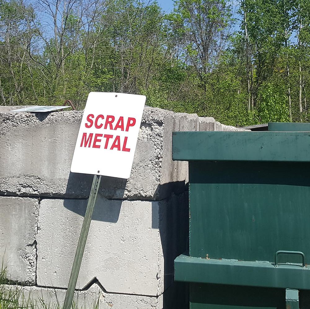 first nations scrap metal dumping