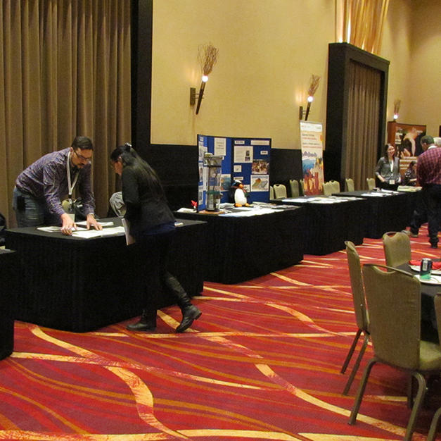 Conference Hosting Services - trade show at Our Lands