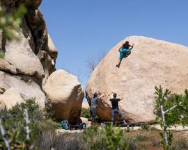 Bouldering x Megan Bethge