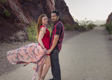 Love on the Railroad Tunnel Trail / Las Vegas, NV / Megan Bethge