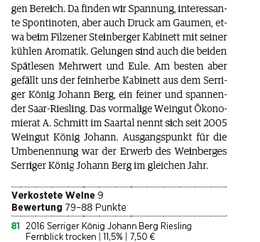 Vinum Weinführer über uns.