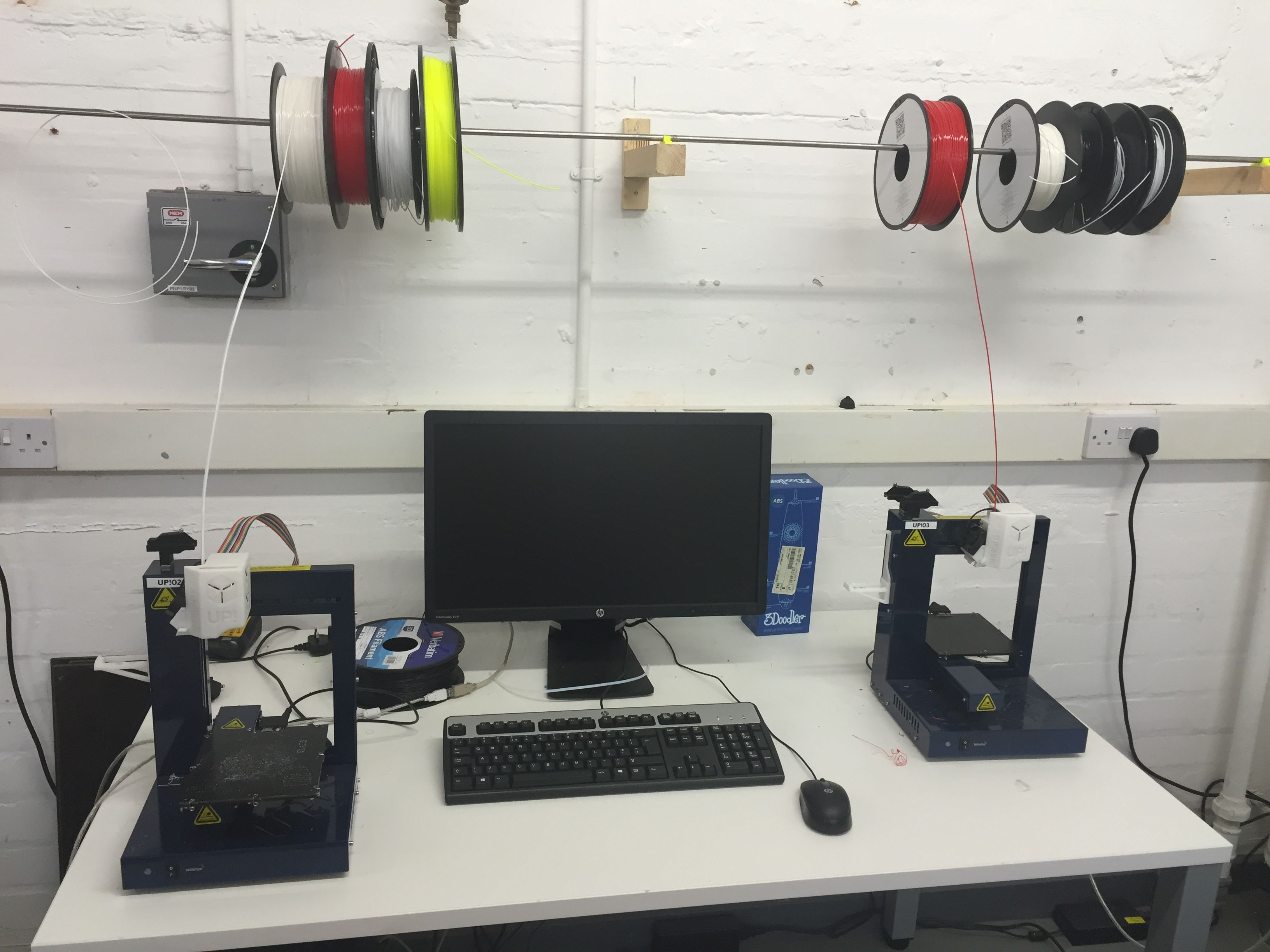 Instruments necessary to 3D scanning