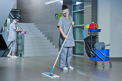 Floor care and cleaning services with wa