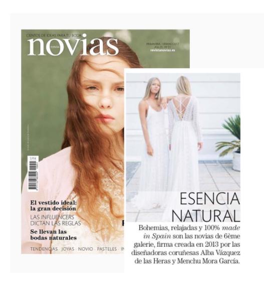 6èmegalerie & Novias de España