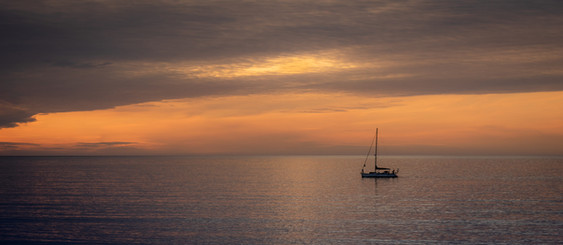 'Peaceful Sunset' by Paula Johnston, Central Photographic Association