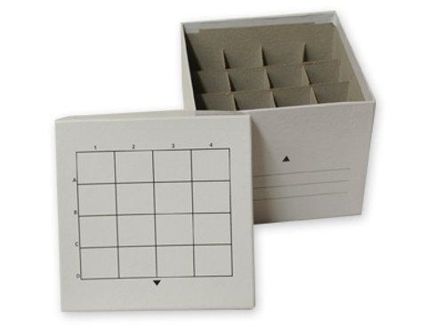 Caja congelación p/tubos centrífuga 50 ml. Cartón.