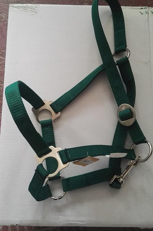 Cabezada Nylon classic verde