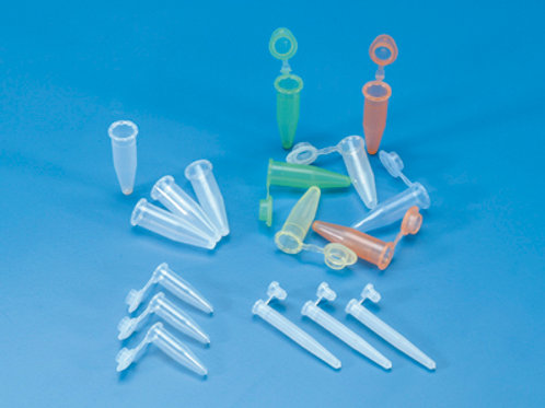 Microtubos PP, Eppendorf con tapón, 1,5 ml. 1000 uds.