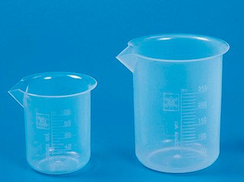Vaso PP forma baja 250 ml.