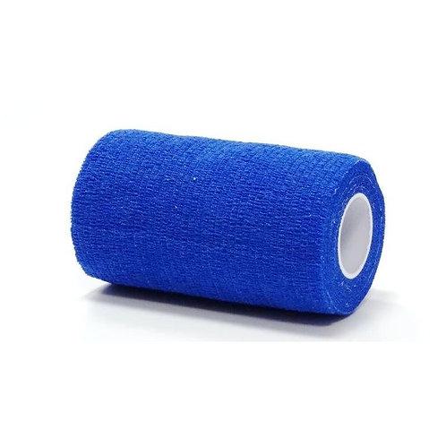 Venda Cohesiva Equilastic, azul 10 cm.
