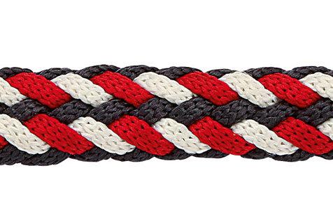 Ramal Softra rojo/azul/blanco con mosquetón