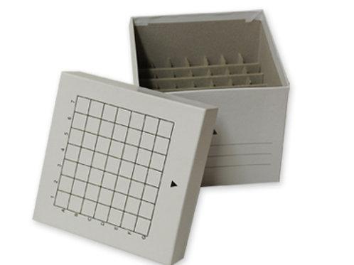 Caja congelación p/tubos centrífuga 15 ml. Cartón.