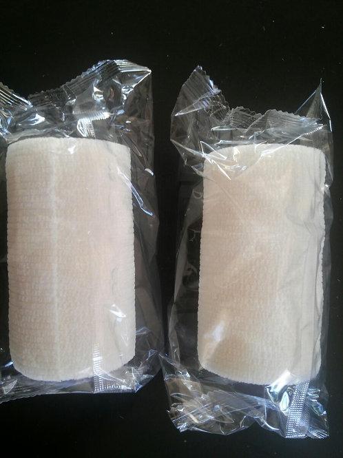 Venda Cohesiva Equilastic blanca, 10 cm