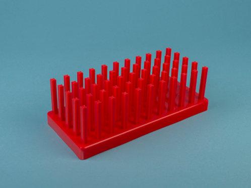 Gradilla PP multisoporte para 40 tubos 17-20 mm.
