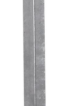 """Pica de tierra galvanizada en """"T"""" 100cm"""