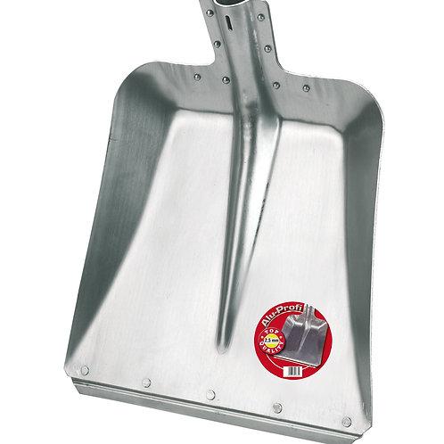 Pala aluminio con reborde