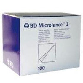 Aguja hipodermica 1,1 x 40 mm, Marfil, 100Uds