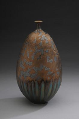 Vase with Bronze Glaze