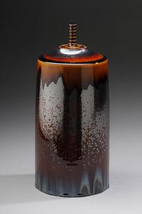 Iron Crystalline Jar