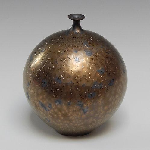 Small Vase with Bronze Glaze