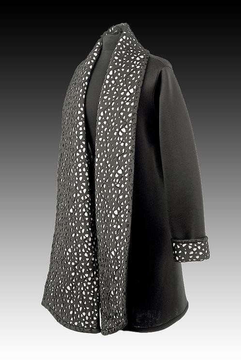 Long Shawl Collar Coat